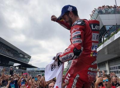 Kalahkan Marquez di Austria, Dovizioso Bangga Pertahankan Kejayaan Ducati