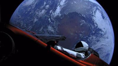 Ini Mobil Pertama yang Berhasil Mengorbit di Matahari