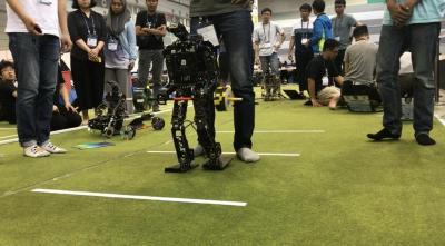 Tim Robot ITS Raih 14 Penghargaan di Ajang Internasional FIRA Roboworld Cup 2019