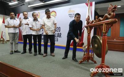 Hary Tanoe Resmi Buka Pra PON XX Papua 2020 Cabor Biliar