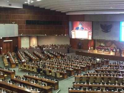 8 Fraksi Setujui RUU RAPBN 2020 Dilanjutkan ke Bamus