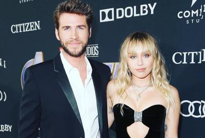 Liam Hemsworth Resmi Gugat Cerai Miley Cyrus