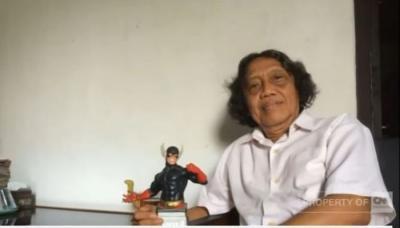 Mengenal Sosok Hasmi, Pencipta Superhero Gundala