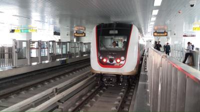 Pembangunan Prasarana LRT Jabodebek Tahap I Capai 64,4%