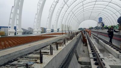 Waktu Kedatangan LRT Jabodebek Dirancang Setiap 3 Menit