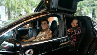 Menhub: Mobil Listrik Solusi Atasi Polusi Udara Jakarta