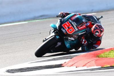 Tercepat di Hari Pertama MotoGP Inggris 2019, Quartararo Enggan Sesumbar