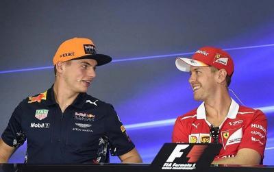 Verstappen Merasa Lebih seperti Vettel ketimbang Hamilton