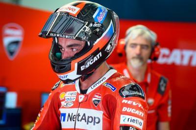 Tercecer ke Posisi 11 pada Kualifikasi MotoGP Inggris, Petrucci Kecewa