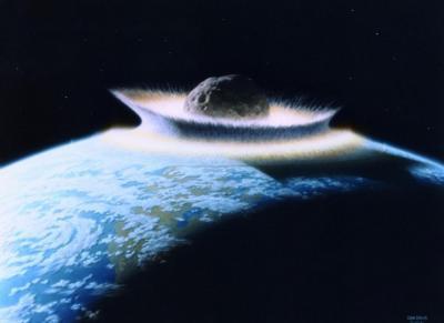 LAPAN: Asteroid Besar yang Jatuh ke Laut Bisa Timbulkan Tsunami
