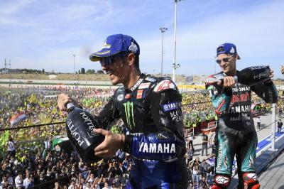 Vinales Akui Ketangguhan Quartararo di MotoGP San Marino 2019