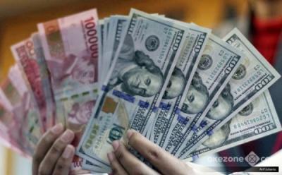 Melemah 0,39%, Rupiah di Level Rp14.097 per USD