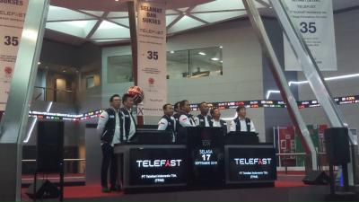 IPO, Saham Startup Telefast Indonesia Naik 50%