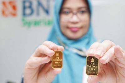 Harga Emas Antam Hari Ini Masih Rp753.000 per Gram