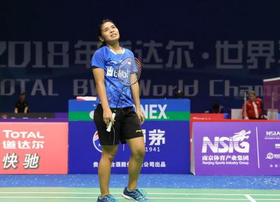 Gregoria Gagal Atasi Beiwen Zhang di Babak Pertama China Open 2019