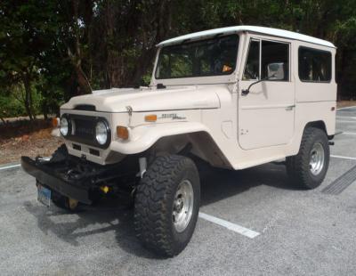 Toyota Land Cruiser Produksi 1970 Disulap Jadi Mobil Ramah Lingkungan