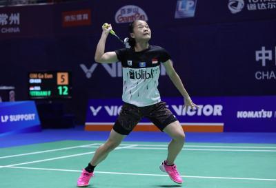 Faktor Angin Jadi Penyebab Fitriani Tersingkir dari China Open 2019