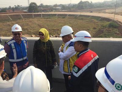 Pagi-Pagi, Menteri Basuki Cek Tol Kunciran-Serpong