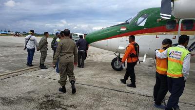 Tim SAR Cari Pesawat Twin Otter di Lokasi Hilang Kontak