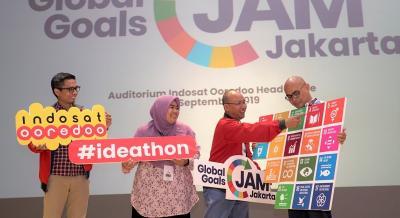 Pecahkan Masalah Global, Indosat Ooredoo Gelar 'Global Goals Jam'