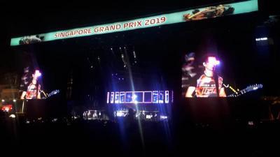 Aksi Muse Bikin Penonton F1 GP Singapura 2019 Menggila