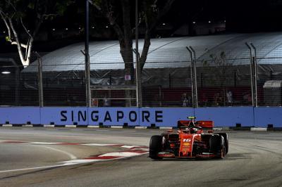 Hasil Kualifikasi F1 GP Singapura 2019