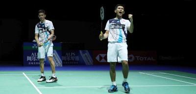 Head to Head Kevin Marcus vs Fajar Alfian Jelang Semifinal China Open 2019