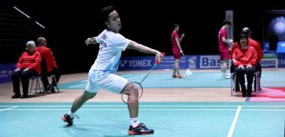 Tumbangkan Antonsen, Anthony Sinisuka Ginting ke Final China Open 2019