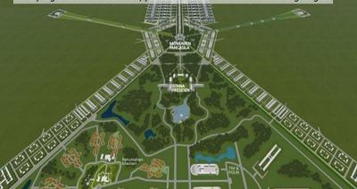 Ramah Lingkungan, Ini Fakta Ibu Kota Baru Tanpa Kabel Melintang