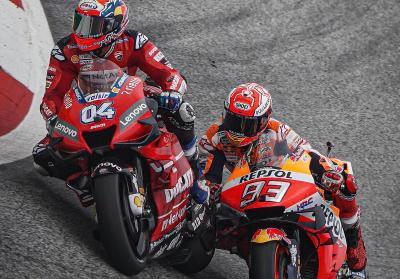 Dovizioso Tak Lagi Berambisi Kalahkan Marquez