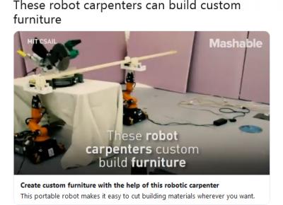 Viral Kecanggihan Robot Kalahkan Tukang Kayu
