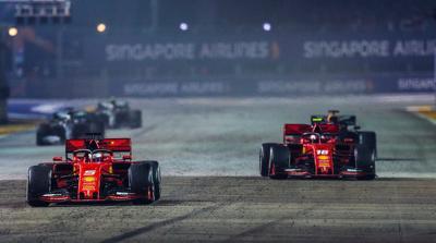 Dominan di Singapura, Vettel: Bukan Jaminan Ferrari Bisa Bersaing di Trek Lain