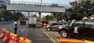 3 Cara Hemat BBM saat Terjebak Kemacetan Demonstrasi