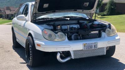 Bermodal Pemasangan Turbo, Hyundai Sonata Ini Mampu Letupkan Tenaga 500 Hp