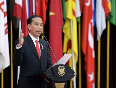 Jokowi Resmikan Pengoperasian Palapa Ring, Ini Harapannya