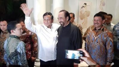 Prabowo-Paloh Ingin Amandemen UUD Menyeluruh, Pengamat: Perlu Kajian Mendalam