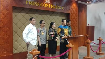 TNI-Polri Kawal Jokowi-Ma'ruf dan Tamu Undangan saat Pelantikan Presiden