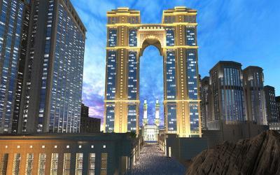 Arab Saudi Bangun Masjid Tertinggi di Dunia Dekat Kakbah