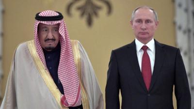 Spesial untuk Raja Salman, Vladimir Putin Bawakan Hadiah Unik