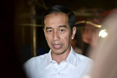 Jokowi Kembali Jenguk Wiranto di RSPAD Gatot Soebroto
