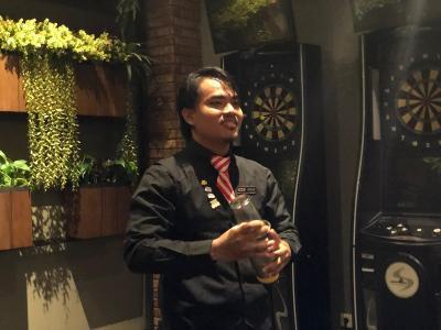 Suka Duka Gentha, Dicibir Jadi Bartender hingga Wakili Indonesia di Kompetisi Internasional