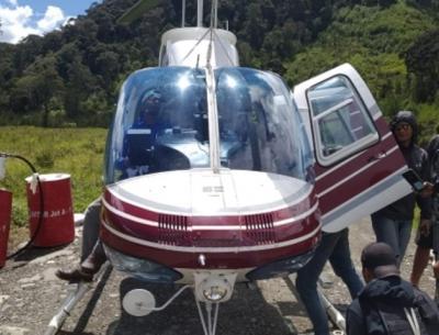 TNI Duga Penembak Helikopter Bell di Papua Kelompok Lekagak Telenggen