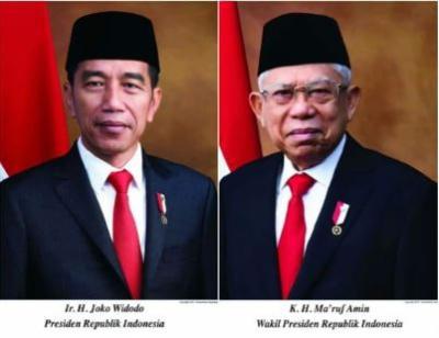 Istana Rilis Foto Resmi Presiden dan Wapres Terpilih 2019-2024