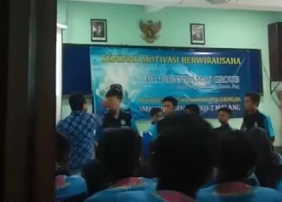Viral Motivator Diduga Emosi Tampar Siswa SMK di Malang