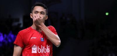 Akhiri Perjuangan di Denmark Open 2019, Jonatan: Saya Kecewa