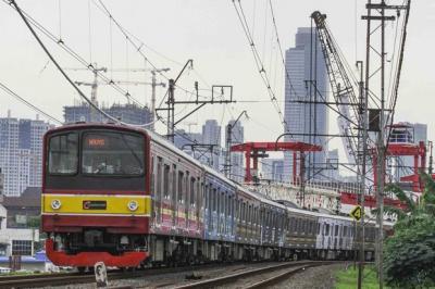 KRL Rangkasbitung-Tanah Abang Hanya sampai Stasiun Kebayoran saat Pelantikan Presiden