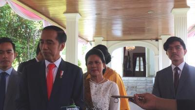 Kompaknya Iriana Jokowi dan Wury Estu Handayani di Pelantikan Presiden, Sama-Sama Cantik