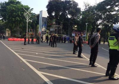 Begini Situasi Terkini di Gedung DPR MPR Jelang Pelantikan Jokowi-Ma'ruf