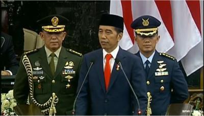 Usai Dilantik, Jokowi: Indonesia Jadi Negara Maju, Itulah Target Kita!