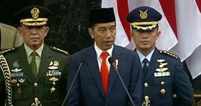 Jokowi: Terima Kasih JK Telah Bahu-membahu Jalankan Pemerintahan
